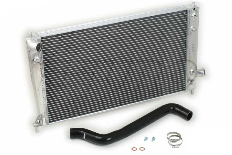 Radiator Kit (w/ Upper Hose) (Performance) (Black) - do88 WC270S SAAB WC270S
