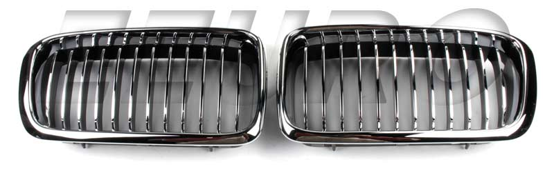 Kidney Grille Set (M5 Style) (Chrome) GRILLE38M5A Main Image