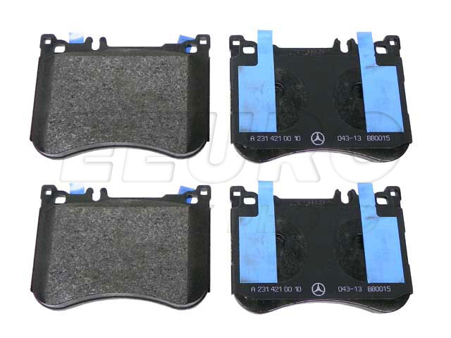 Disc Brake Pad Set - Front - Genuine Mercedes 0084203320