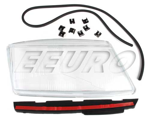 Headlight Lens - Passenger Side (E-Code) - ProParts 34340044 SAAB 32019335