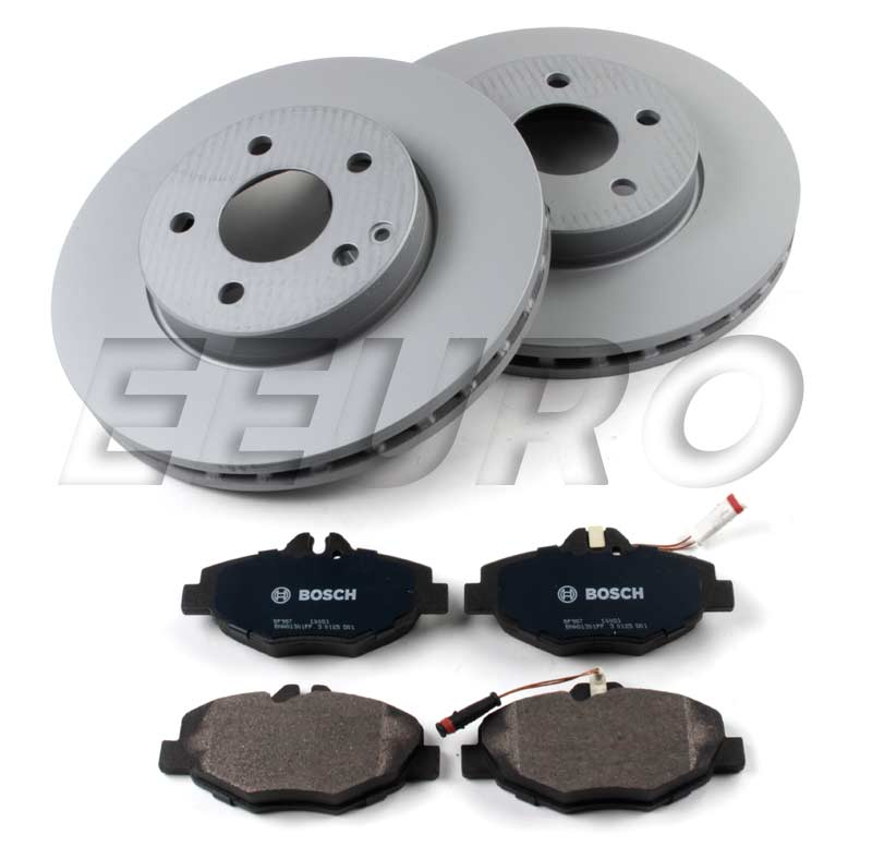 Mercedes Disc Brake Kit - Front (296mm) - eEuroparts.com Kit