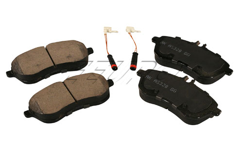 Click here for Disc Brake Pad Set - Front - Akebono EUR1340 Merce... prices