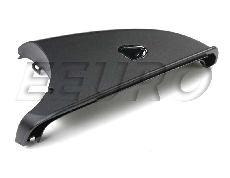 Genuine mercedes side mirror cover driver side lower for Driver side mirror replacement mercedes benz