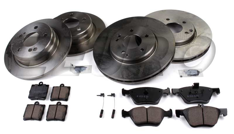 Mercedes Disc Brake Kit (Complete) - eEuroparts.com Kit