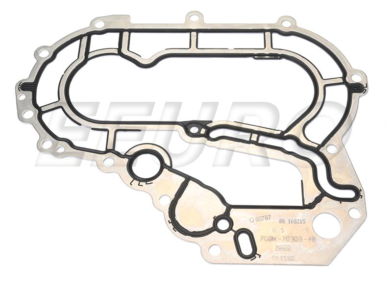 Engine Timing Cover Gasket - Rear - Genuine Volvo 31251345 31251345