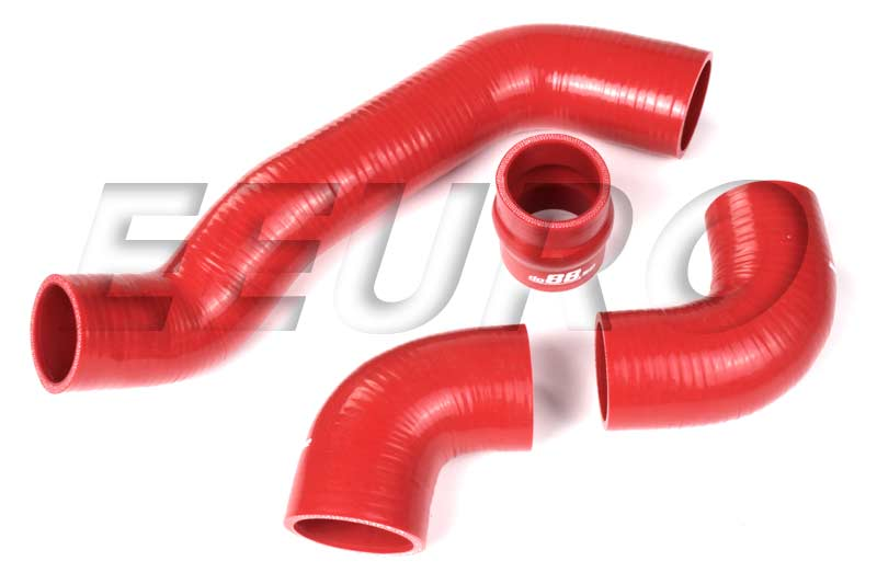 Intercooler Hose Kit (Silicone) (Red) DO88KIT28R Main Image