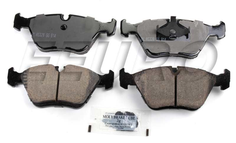 Click here for Disc Brake Pad Set - Front - Akebono EUR394 BMW 34... prices