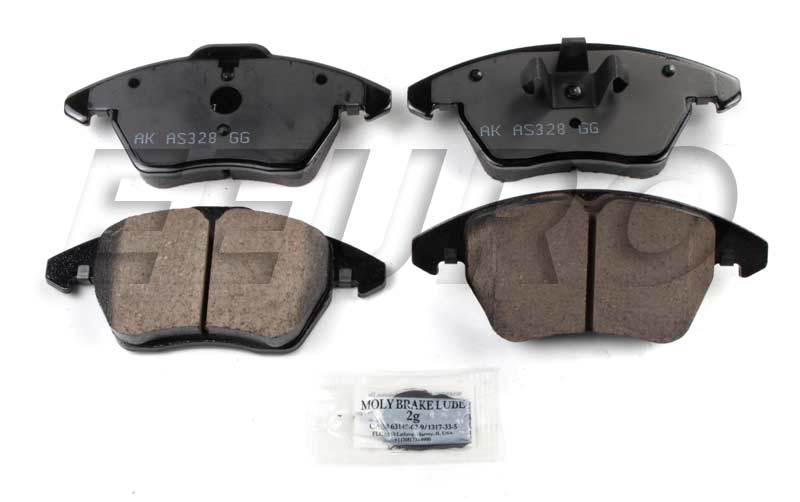Disc Brake Pad Set - Front EUR1107A Main Image