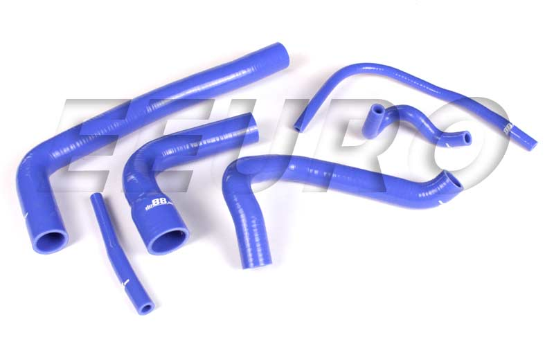Engine Coolant Hose Kit (Silicone) (Blue) DO88KIT16 Main Image
