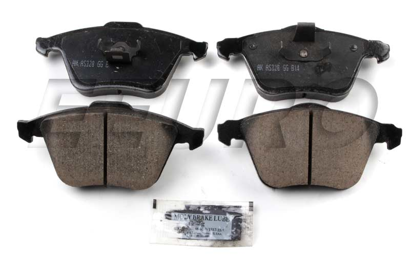 Click here for Disc Brake Pad Set - Front - Akebono EUR915A Volvo... prices