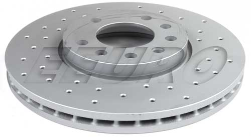Disc Brake Rotor - Front (288mm) (Cross-Drilled) 430147350 Main Image