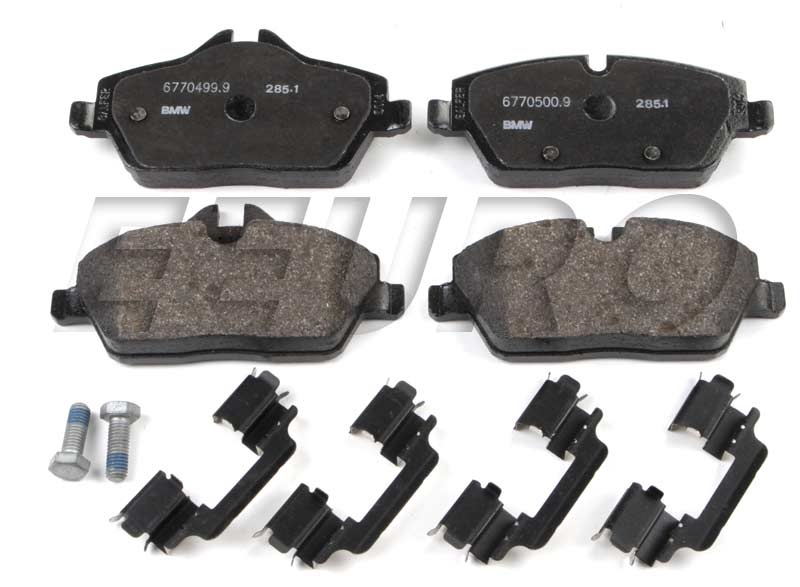 Disc Brake Pad Set - Front 34116772892 Main Image