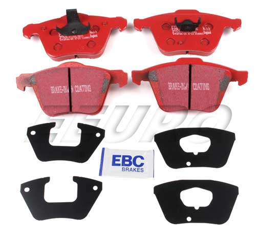 Click here for Disc Brake Pad Set - Front (336mm) - EBC RedStuffs... prices
