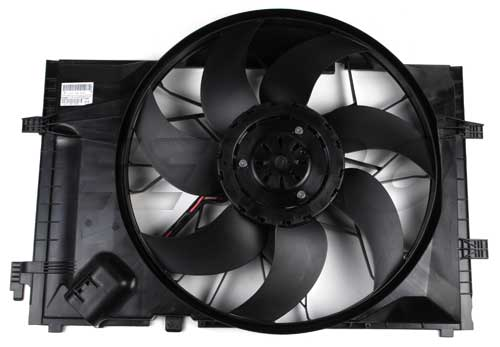 mercedes engine cooling fan assembly  eeuropartscom