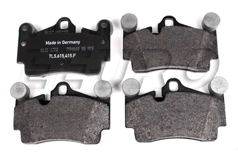 Disc Brake Pad Set - Rear - Genuine VW 7L0698451H