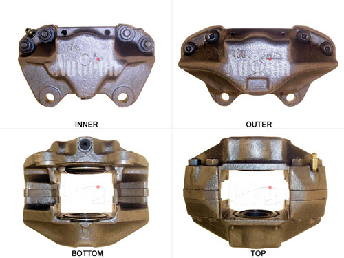 Disc Brake Caliper - Front Driver Side 2203107L Main Image
