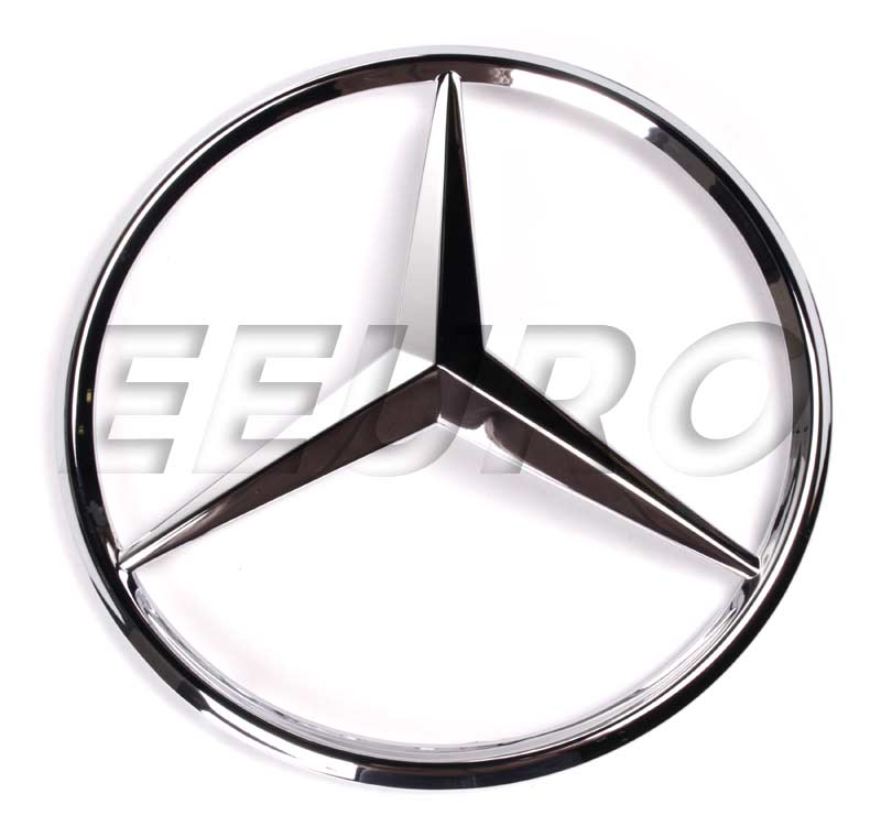 1638880086 genuine mercedes emblem free shipping for Mercedes benz insignia