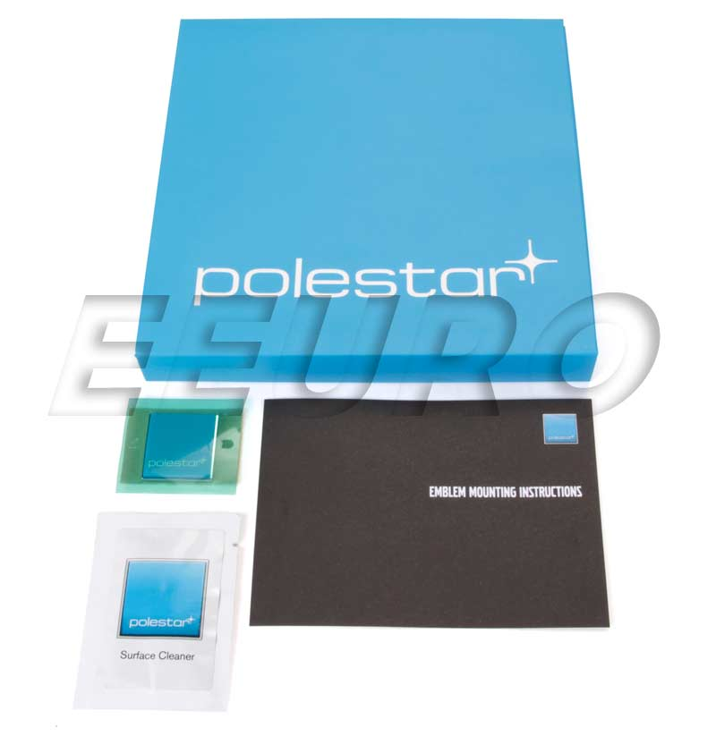Polestar Emblem Badge Kit 8640137 Main Image