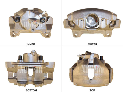 Disc Brake Caliper - Front Driver Side 2202121L Main Image