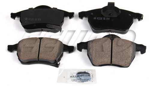Click here for Disc Brake Pad Set - Front - Akebono EUR819 SAAB 3... prices