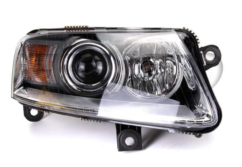 Headlight Assembly - Passenger Side (Xenon) - Hella 008881461 Audi 4F0941030ED