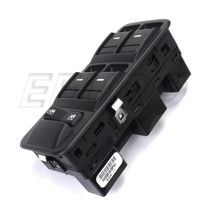Window Switch - Front Driver Side - Genuine Land Rover YUD501570PVJ YUD501570PVJ
