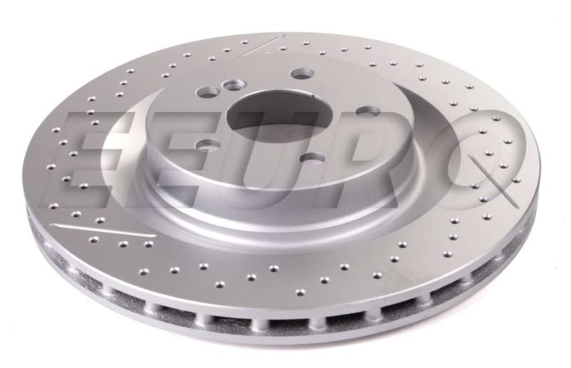 Mercedes Benz Disc Brake Rotor Rear 330mm Bosch