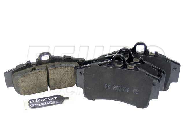 Disc Brake Pad Set - Rear - Genuine Porsche 98635293910
