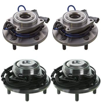 Wheel Bearing and Hub Assembly - Front and Rear (Improved Design) 4070355KIT Main Image