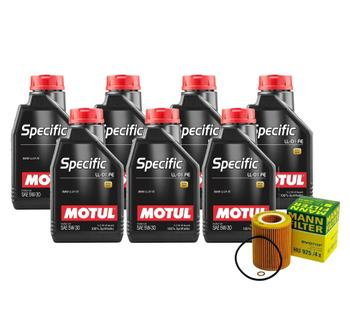 Engine Oil Change Kit (5W-30) (7 Liter) (SPECIFIC LL-01 FE) 3090856KIT Main Image