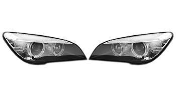 Headlight Set - Driver and Passenger Side (Xenon) 2863857KIT Main Image