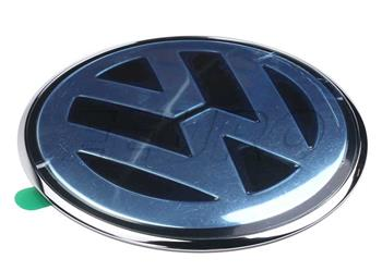 1J6853630A 041 Volkswagen Original VW Rear Trunk Boot Badge Emblem Black