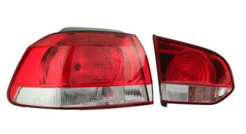 Tail Light Assembly - Driver Side Inner and Outer (LED) 2849417KIT Main Image