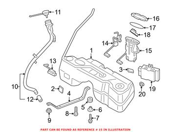 bmw fuel pump diagram bmw fuel pump assembly 16117314804 eeuroparts com    bmw fuel pump assembly 16117314804