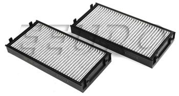 Cabin Air Filter Set (Activated Charcoal) CUK29412 Main Image