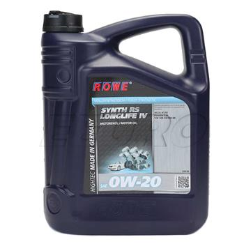 Engine Oil (HIGHTEC SYNTH RS LONGLIFE IV) (0W20) (5 Liter) 20036005003 Main Image