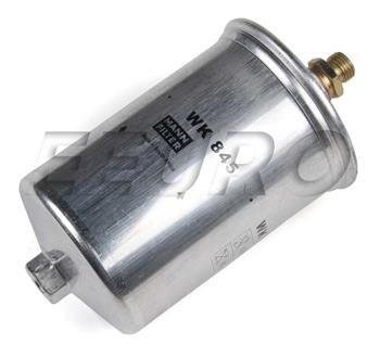 mercedes-benz fuel filter (threaded fittings) (82mm) - mann-filter wk845 -  fast shipping available  eeuroparts.com
