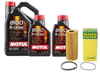 Engine Oil Change Kit (5W-40) (7 Liter) (X-CESS 8100) 3092249KIT Main Image