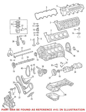 For Mercedes S55 AMG SL500 Engine Timing Chain Guide Upper Trucktec 1120520116