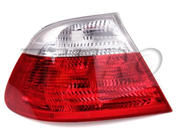 Tail Light Assembly - Driver Side Outer (Clear) 63218384843 Main Image