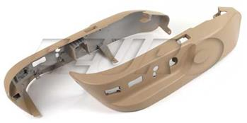 Seat Lower Switch Cover Set (Beige) 52107058011 Main Image
