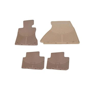 Floor Mat Set - Front and Rear (All Weather) (Rubber) (Beige) 4155625KIT Main Image