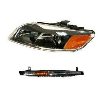 Headlight Assembly - Front Driver Side (Xenon) (With Turn Signal Light) 2128677KIT Main Image