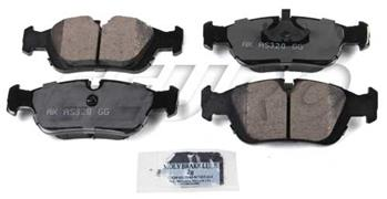 Disc Brake Pad Set - Front EUR558 Main Image