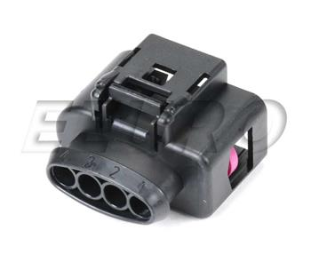Electrical Connector Housing (4-pin) 8K0973724 Main Image