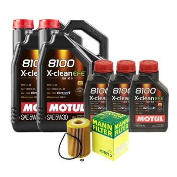 Engine Oil Change Kit (5W-30) (13 Liter) (X-CLEAN EFE 8100) 3092006KIT Main Image
