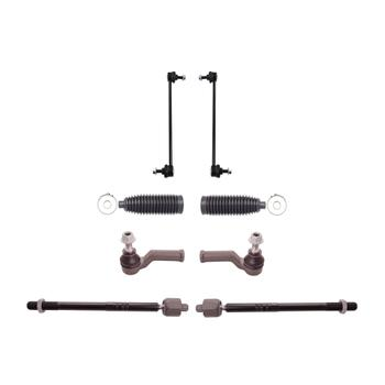 Steering Tie Rod End Kit - Front Inner and Outer (with Bellows) (with Speed Sensitive Steering) 3332514KIT Main Image