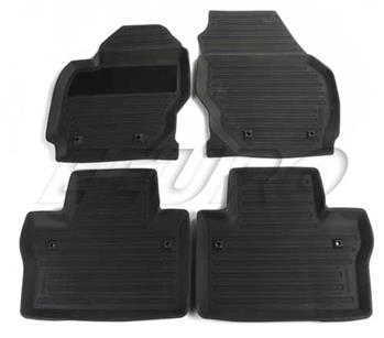 Floor Mat Set (All-Weather) (Black) 39807564 Main Image