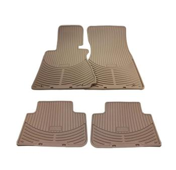 Floor Mat Set - Front and Rear (All Weather) (Rubber) (Beige) 4155668KIT Main Image