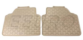 Floor Mat Set - Rear (All-Weather) (Beige) 51470427560 Main Image